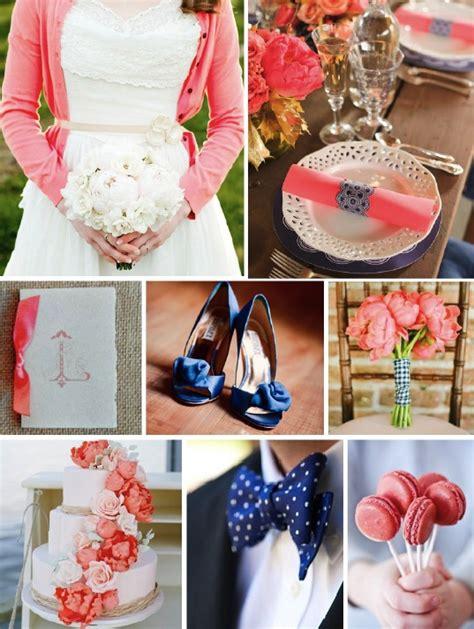 navy and coral wedding centerpieces coral navy wedding color scheme reception wedding