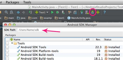 android studio sdk location make eclipse and android studio play with the same android sdk