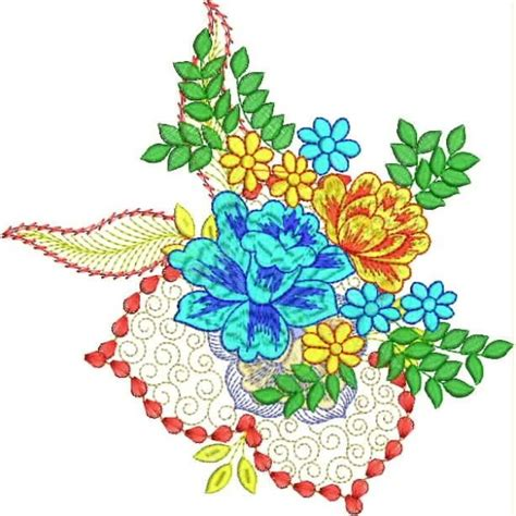 Jam Tangan Flower Pattern Simple Design new creative flower embroidery designs