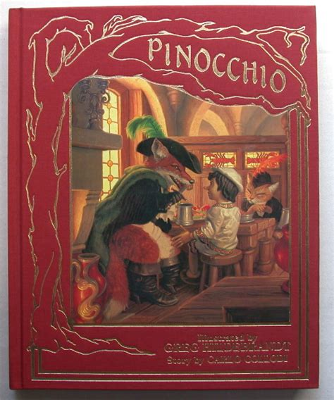 carlo a novel books pinocchio carlo collodi greg hildebrandt edition