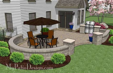 cheap backyard patio designs cheap backyard patio design with grill station 395 sq