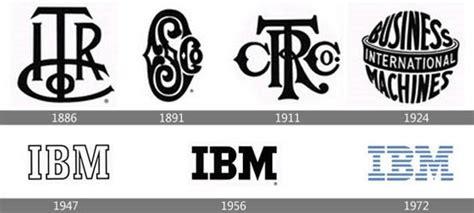 logo evolution of 12 companies brands designmodo