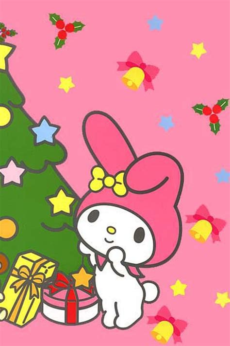 wallpaper christmas sanrio my melody sanrio wallpapers pinterest dibujo my