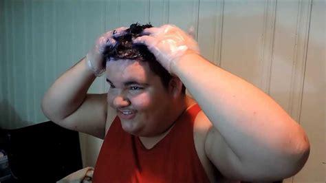 blue hair dye fail youtube