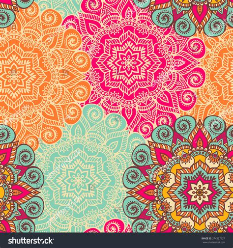 pattern paper buy online india seamless pattern vintage decorative elements hand stock