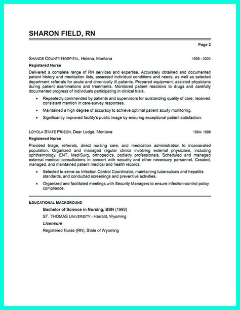 Rn Resume Skills Exles 2695 Best Resume Sle Template And Format Images On A Well Resume Templates And