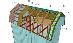 how to build barn shed goehs gambrel barn rafter build learn how to build a barn roof