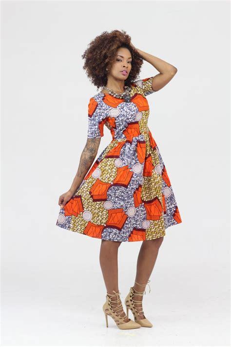 image for ankra skater dress style ankara product of the day sade midi skater dress by