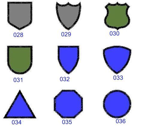 custom digitizing and custom embroidered funny military