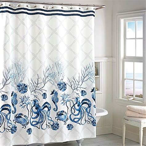 bed bath and beyond christmas shower curtains octavia shower curtain bed bath beyond
