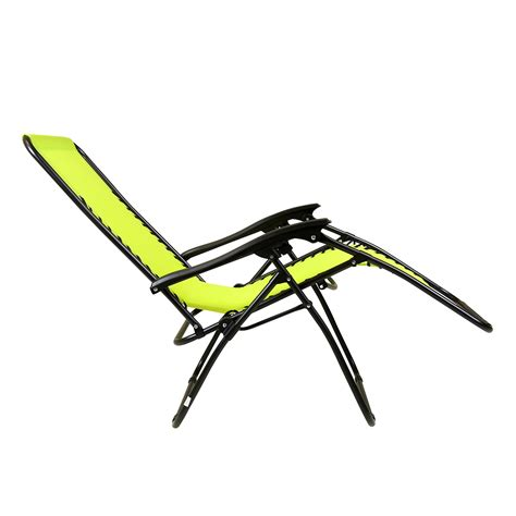 lime green bentley charles bentley zero gravity reclining garden chair