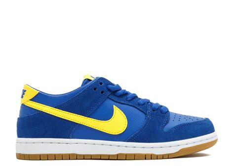 Nike Sb Dunk nike sb zoom dunk low pro quot boca jr quot nike 854866 471 varsity royal lightening white