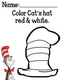 printable coloring pages for cat in the hat collections