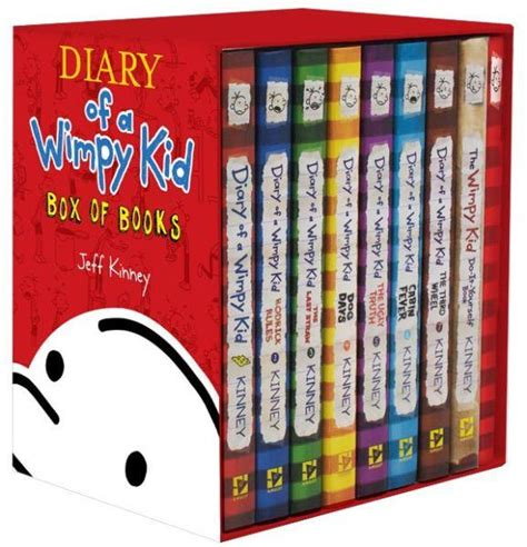 a journal of from the of a books booktopia diary of a wimpy kid box of books 1 7 the do