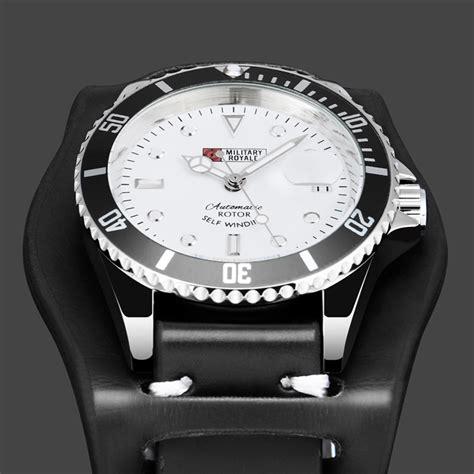 Jam Tangan Pria Swiss Army Black 3 Pilihan Warna royale jam tangan automatic self winding pria mr116 black white jakartanotebook