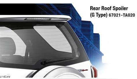 Rear Spoiler Roof Toyota New Agya Go Max Trd spesifikasi toyota 2014 autos weblog