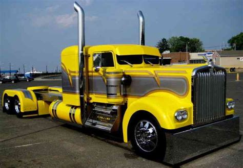 custom truck sales kenworth kenworth truck 1980 sleeper semi trucks