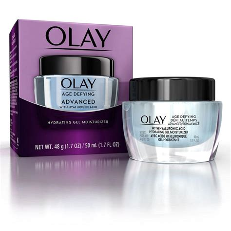Olay Moisturizing olay age defying advanced hydrating gel moisturizer olay
