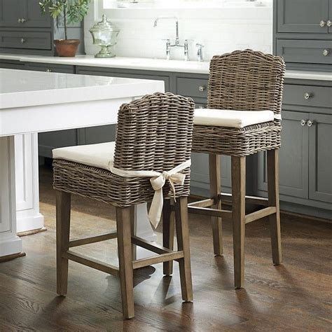 Grey Wicker Counter Stools by Best 25 Bar Stools Ideas On Oven