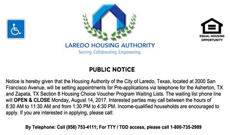 what waiting list is open for section 8 lha to open asherton and zapata section 8 waiting lists