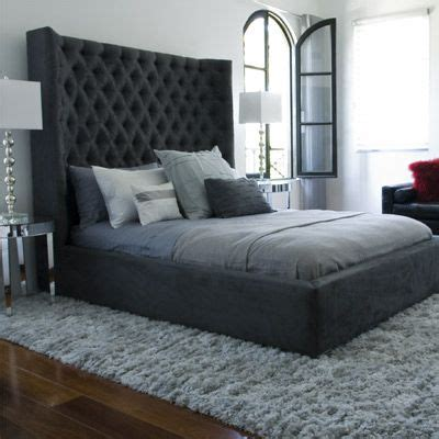 big headboards beds best 20 tall headboard ideas on pinterest