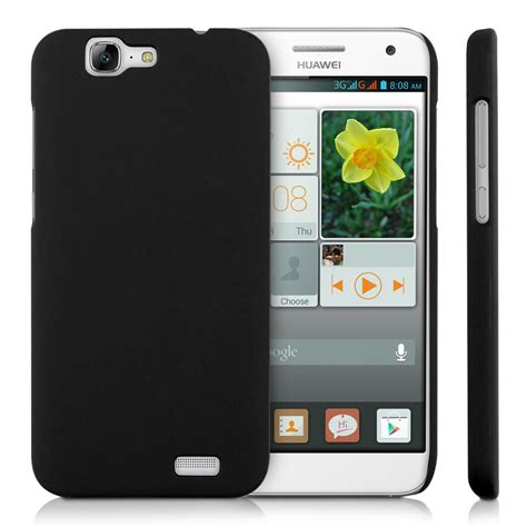 Huawei Ascend P7 Rugged Armor Bumper Stand Cover Plastic Pc kwmobile gummed for huawei ascend g7 cover