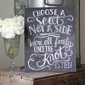 wedding seating signs creative wedding signs and sayings to delight your guests everafterguide