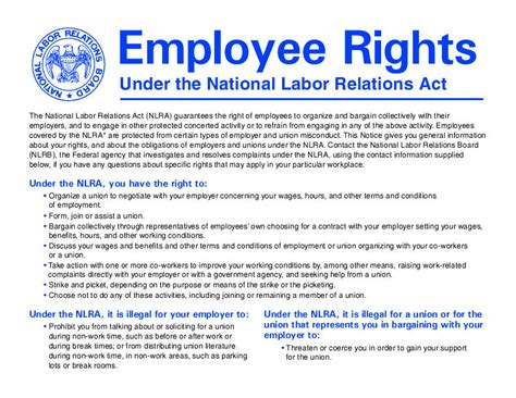 National Labor Relations Act Section 8 by Nlrb Abandons Notice Posting Rule