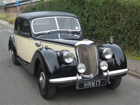 Automotive Upholstery Paint Sold 1948 Riley Rmb 2 5 Saloon