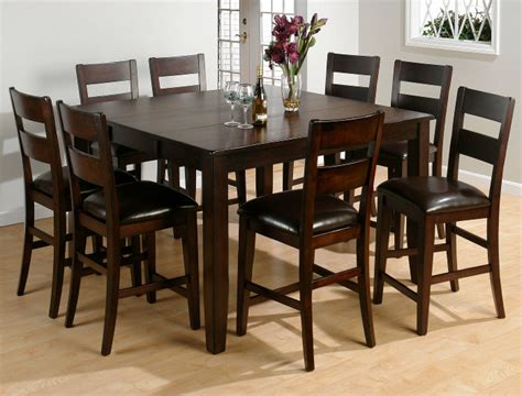9 piece counter height dining room sets 9 piece set kitchen dining furniture tables chairs