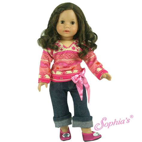 Printed Cuffed Cropped 80 best for your amercan dolls images on