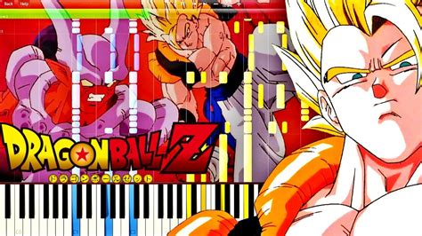 tutorial piano dragon ball z dragon ball z ost gogeta s theme piano tutorial youtube