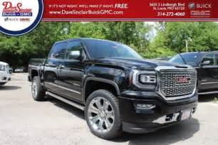 Dave Sinclair Buick Gmc New 2017 Onyx Black Black Gmc 1500 For Sale In St