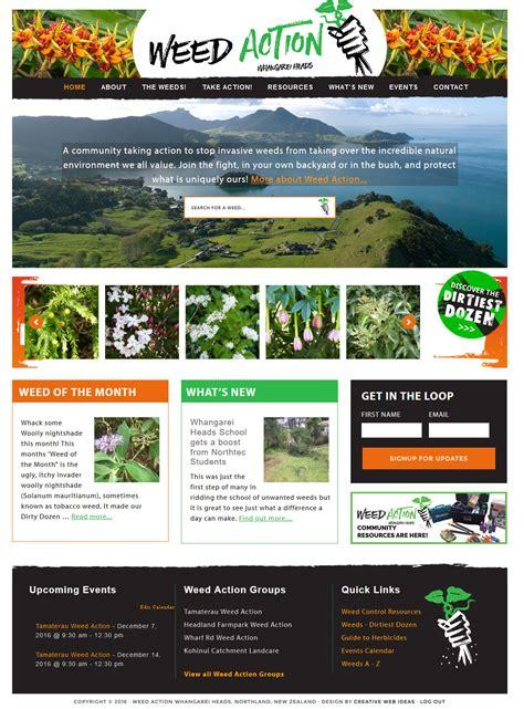 new website ideas 2017 weeds website whangarei website design marketing