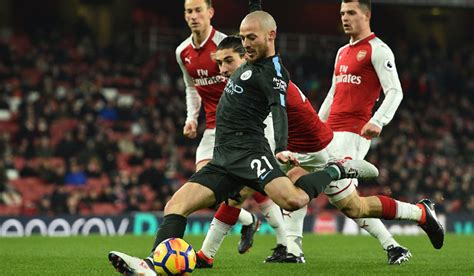 epl arsenal news manchester city close in on title by thrashing arsenal