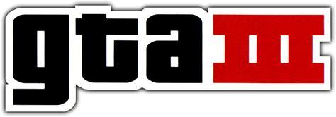 Grand Theft Auto 3 Logo by Grand Theft Auto Iii Logopedia The Logo And Branding Site