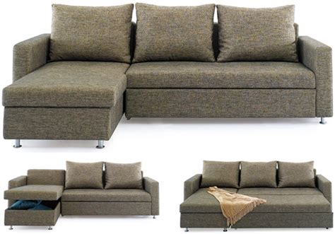 l shape sofa beds chaise sofa bed with storage size