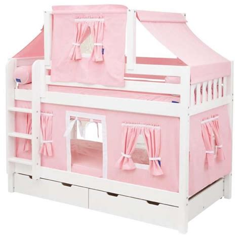 Bunk Bed With Tent At The Bottom 17 Best Images About Playhouse Loft Beds For On