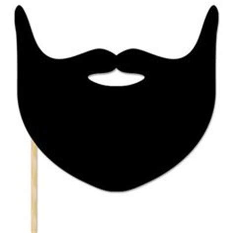 printable beard mask beard mask cut outs make a santa beard pirate beard or
