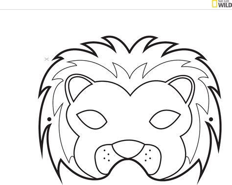 templates for animal masks animal mask template for free page 3 tidyform
