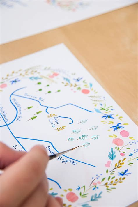 how to draw a map for wedding invitation best 25 wedding direction maps ideas on