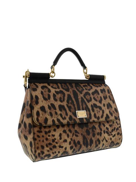 Handbag Find Of The Day Dolce Gabbana Large Satchel by Dolce And Gabbana Animal Print Shoulder Bag Models