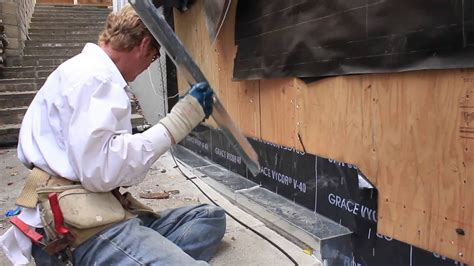 waterproofing  cement curb   exterior wall