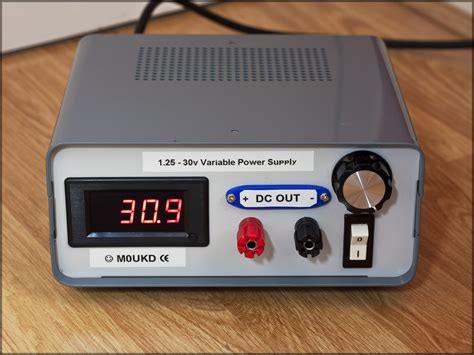 variable bench power supply homemade 1 25v 30v variable bench power supply a variabl flickr