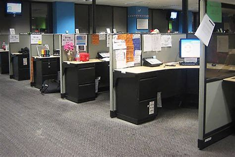 do you need to break down the cubicle walls to improve