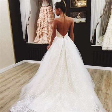 Backless Wedding Dresses by Top 25 Best Backless Wedding Dresses Ideas On