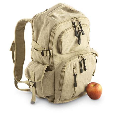 ruck sacks retro large canvas yukon rucksack 187291 style backpacks bags at sportsman s guide
