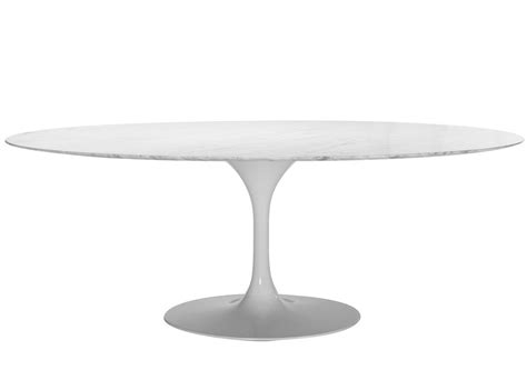Tulip Oval Dining Table Replica Oval Tulip Dining Table By Eero Saarinen