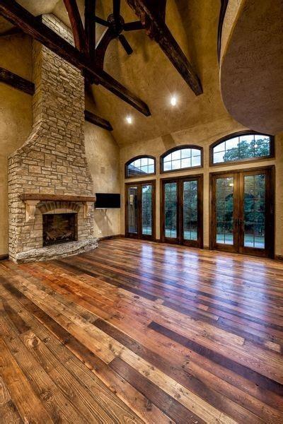 hardwood floors fireplace open floor plan tons of