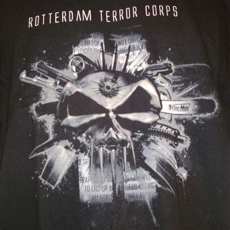 Tshirt Roterdam t shirt rotterdam terror corps taille m homme t shirts
